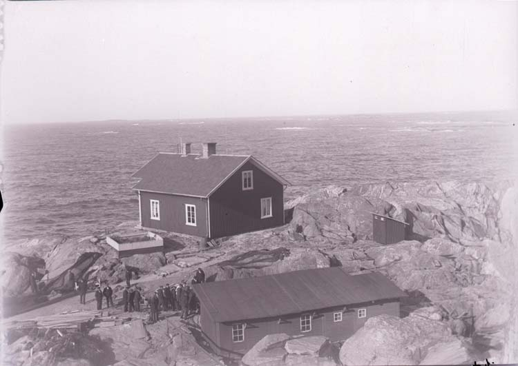 Islandsbergs fyrplats 1910.