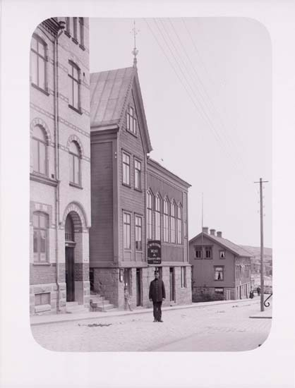 """Enligt text som medföljde bilden: """"Babtistkapellet"""". ::"""