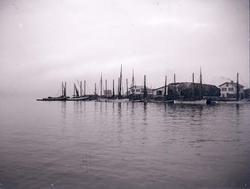Sillbåtar vid Malepert, Marstrand.