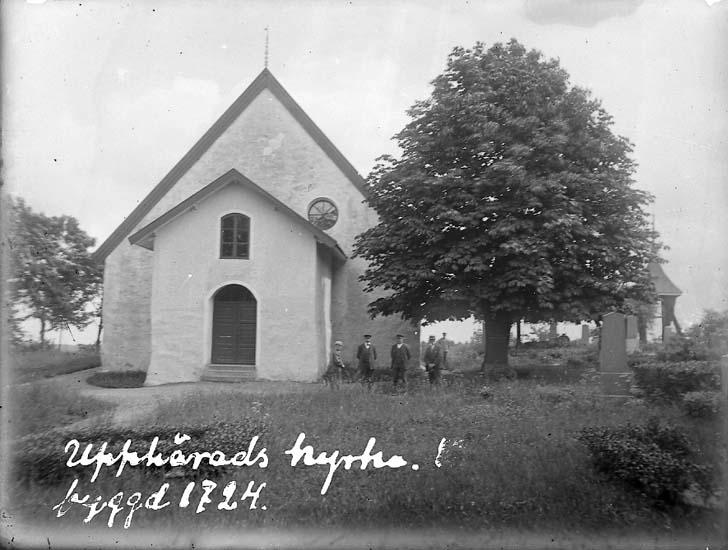 """""""Upphärads kyrka, byggd 1724"""""""