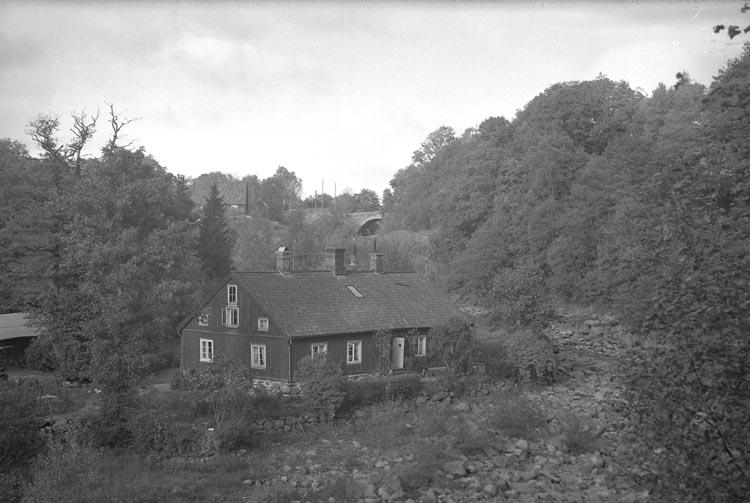 """Enligt fotografens noteringar: """"1937. 69. Herr Jansson m. fru Gamla Bruket""""."""