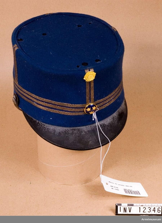 Grupp C I. Med kaptens gradbeteckning.