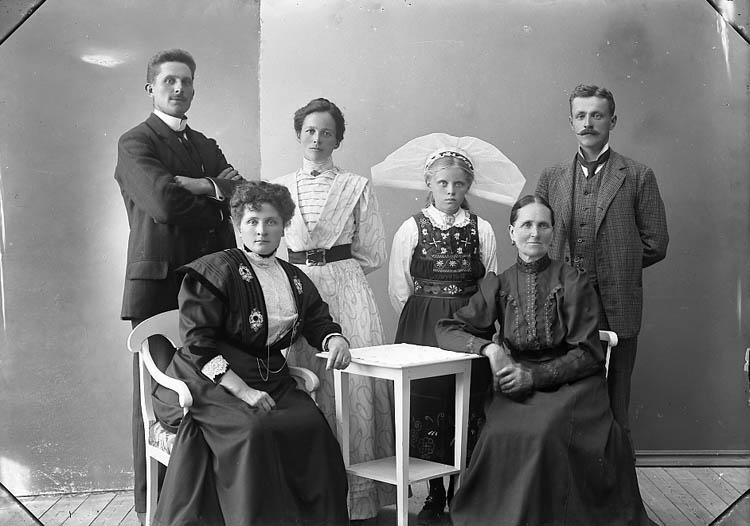 """Enligt fotografens journal nr 1 1904-1908: """"Bengtsson, Hjalmar Stenung""""."""