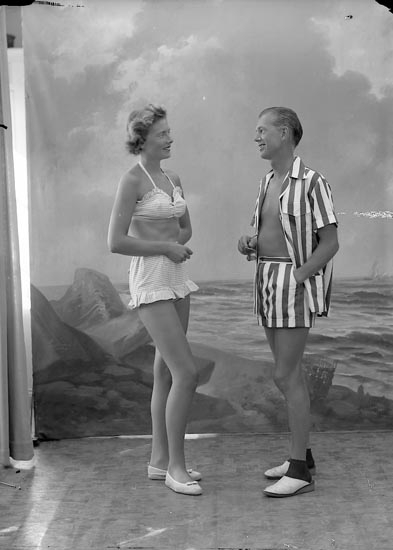 "Enligt fotografens journal nr 8 1951-1957: ""Dahlgren, Herr Sandy Stenungsön""."