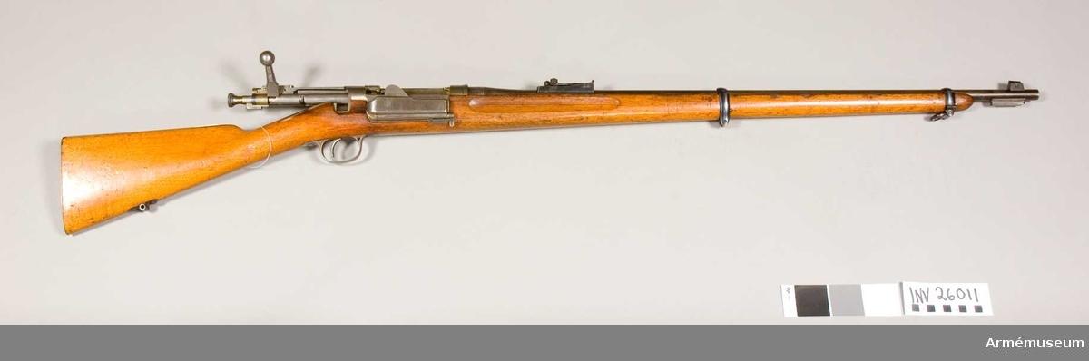 Grupp E II f Kal 6,5 mm. nr 108.