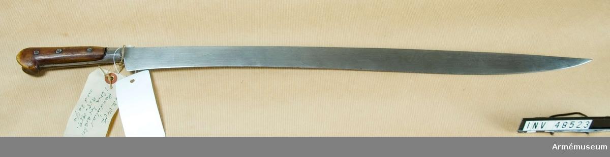 Grupp D II. Handschar i bruk hos araberna, 1858-1959.