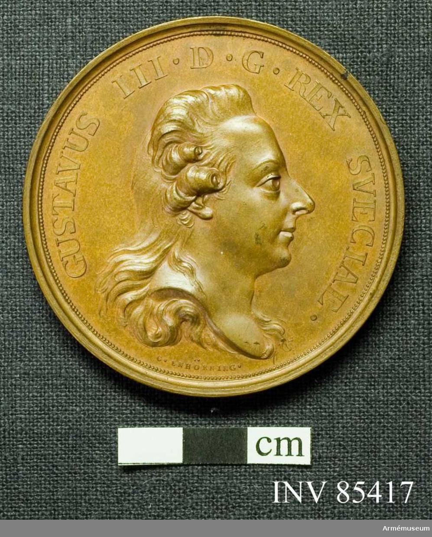 Grupp: M II. Medaljen utförd av C. Enhörning.