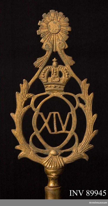 monogram Carl XIV