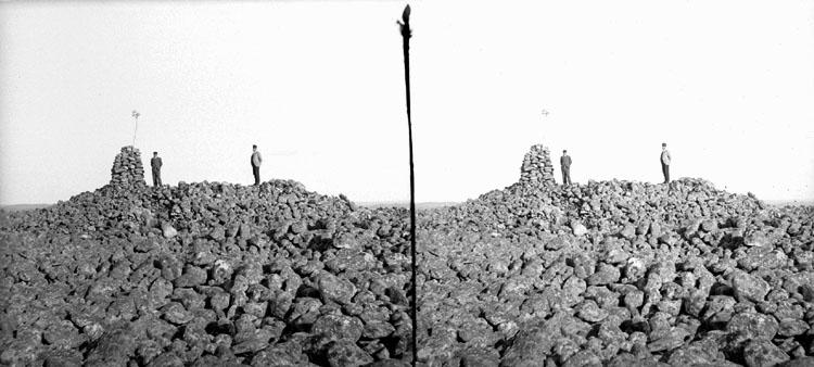 Stenröse på Otterön den 11 Juli 1902