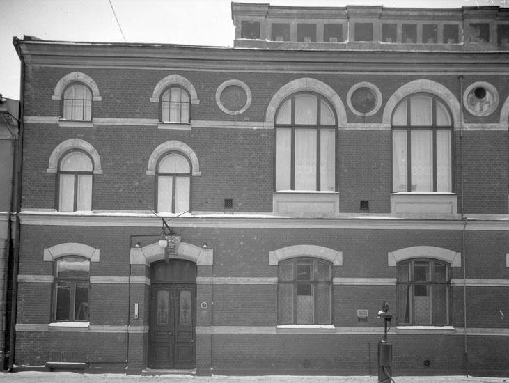 """Uppgift enligt fotografen: """"Uddevalla. Grand Hotell Stenbyggnad. Lagerbergsgatan."""""""