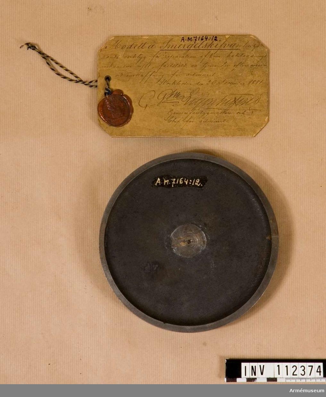 Smärgelskiva m/1881