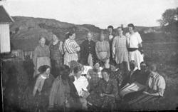 Födelsedagskalas på Skaftö augusti 1925