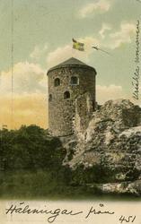 Notering på kortet: Bohus Fästning.