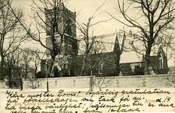 Notering på kortet: Holy Trinity Church.