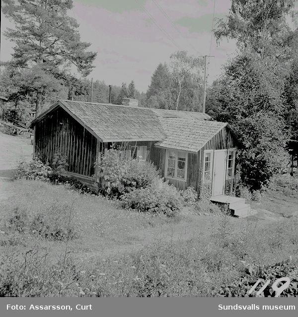 Gammal bostad från järnbrukstiden  i  Torpshammar.