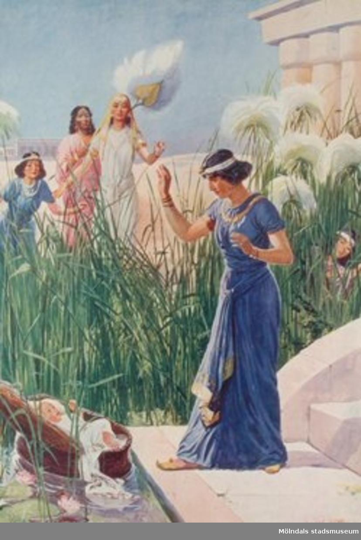 Kristendomskunskap:Moses i vassen