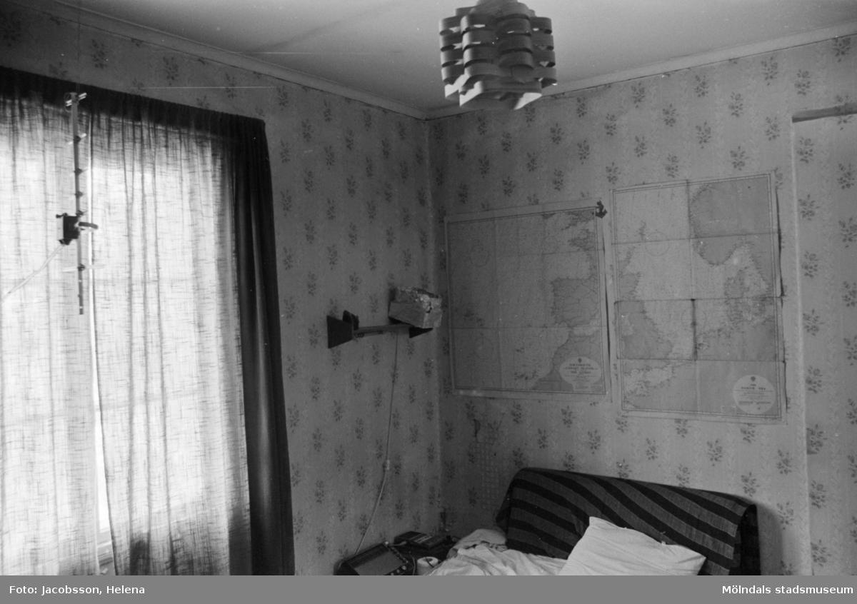 Rum i bostadshus Roten M 11-12, okänt årtal. Vindsvåningen avbildad.