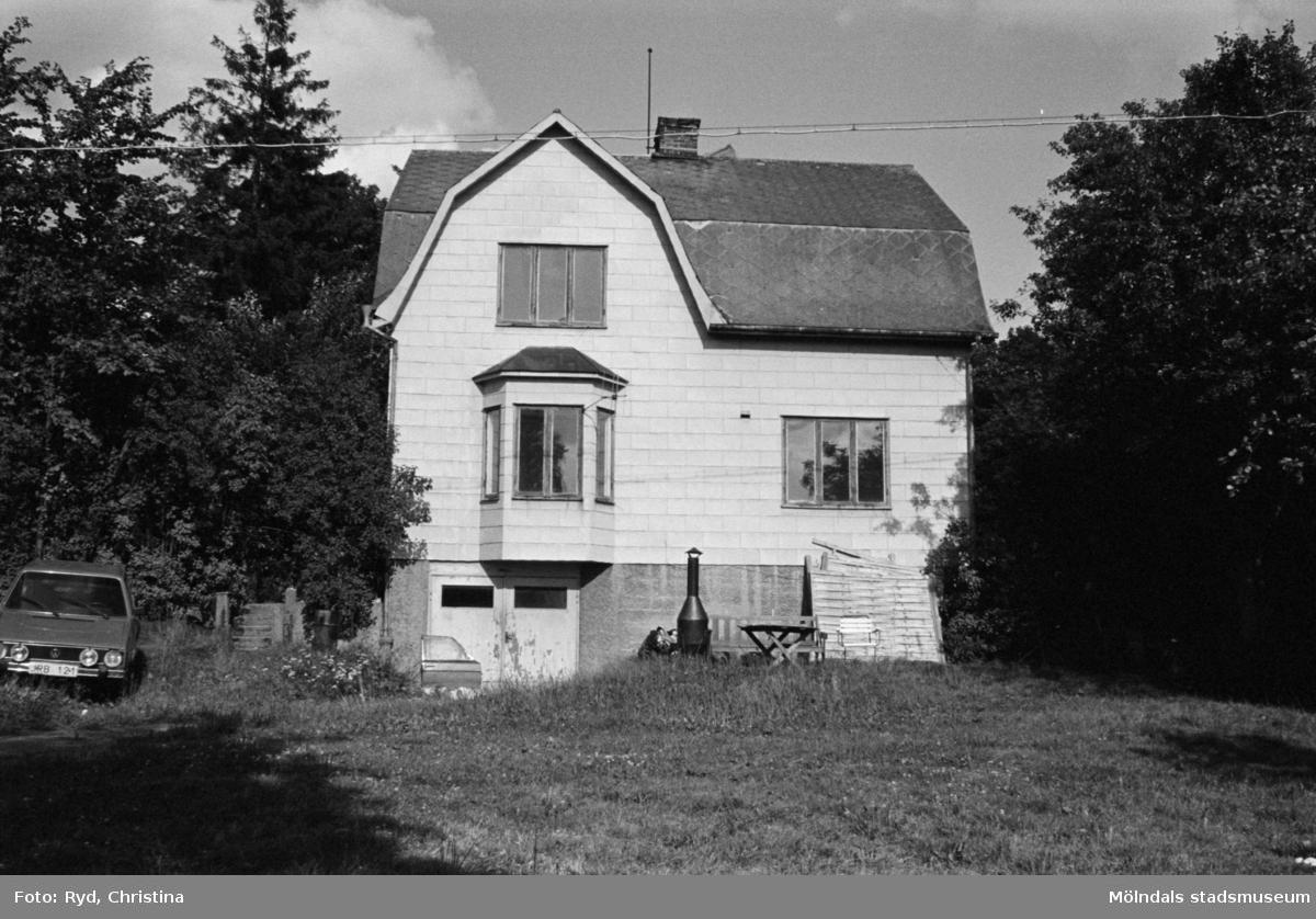En villa på Trädgårdsgatan (Järnvägsgatan 6), 1991.