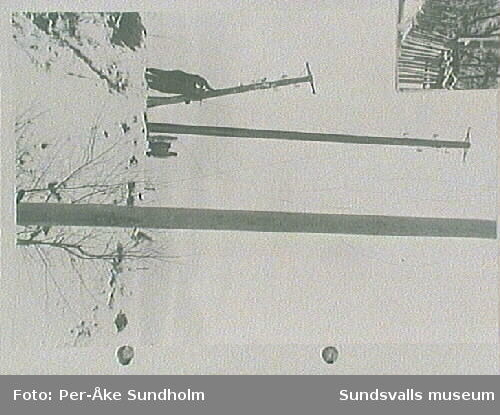 Linjearbete på Sandmon, 1920-talet