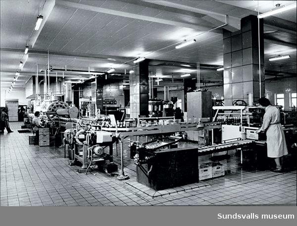 Bryggeri AB Nordstjernan (1892-1950), Sundsvalls Ölbryggeri AB (1919-1950), Sundsvallsbryggerier AB (1950 - 1973).