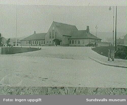 Sundsvalls centralstation, fardig 1926.