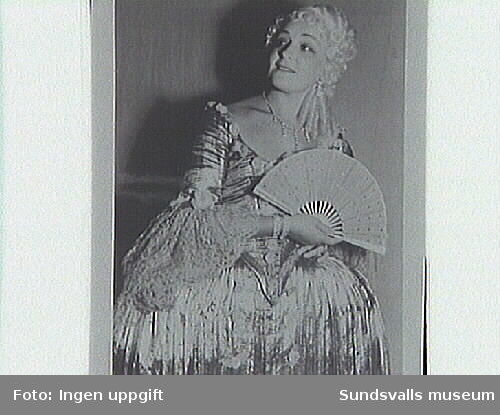 H.S. som Manon i Manon,Massenet