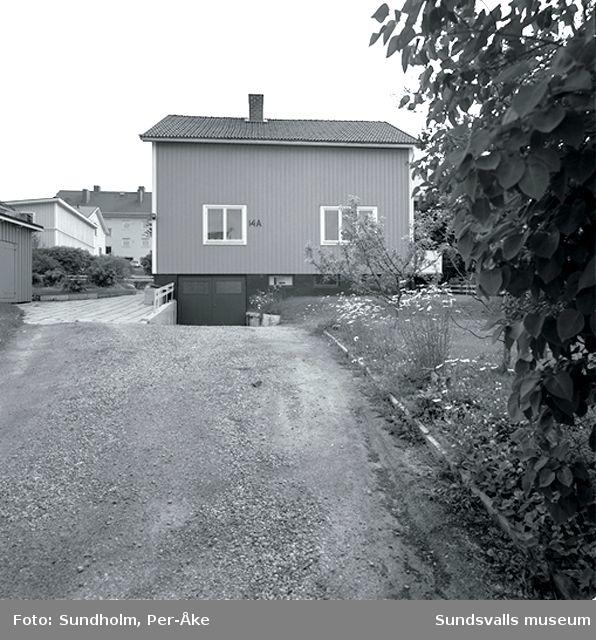 Inventering Stadsmon.  Vallgatan 14 A.