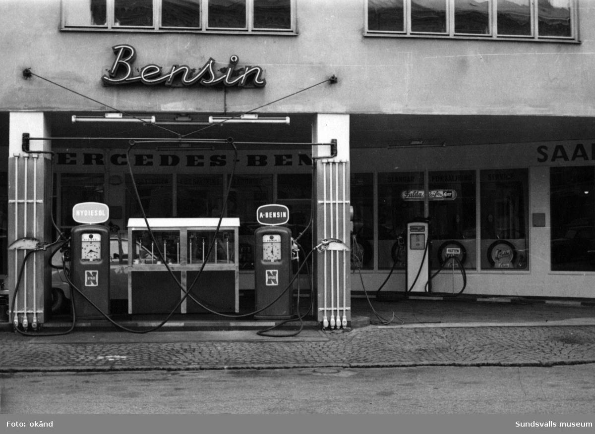 BP-stationen Sundsvall, N:a Järnvägsgatan.