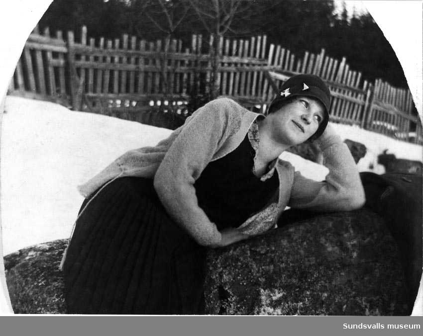 Alicy Åström, Alnö.