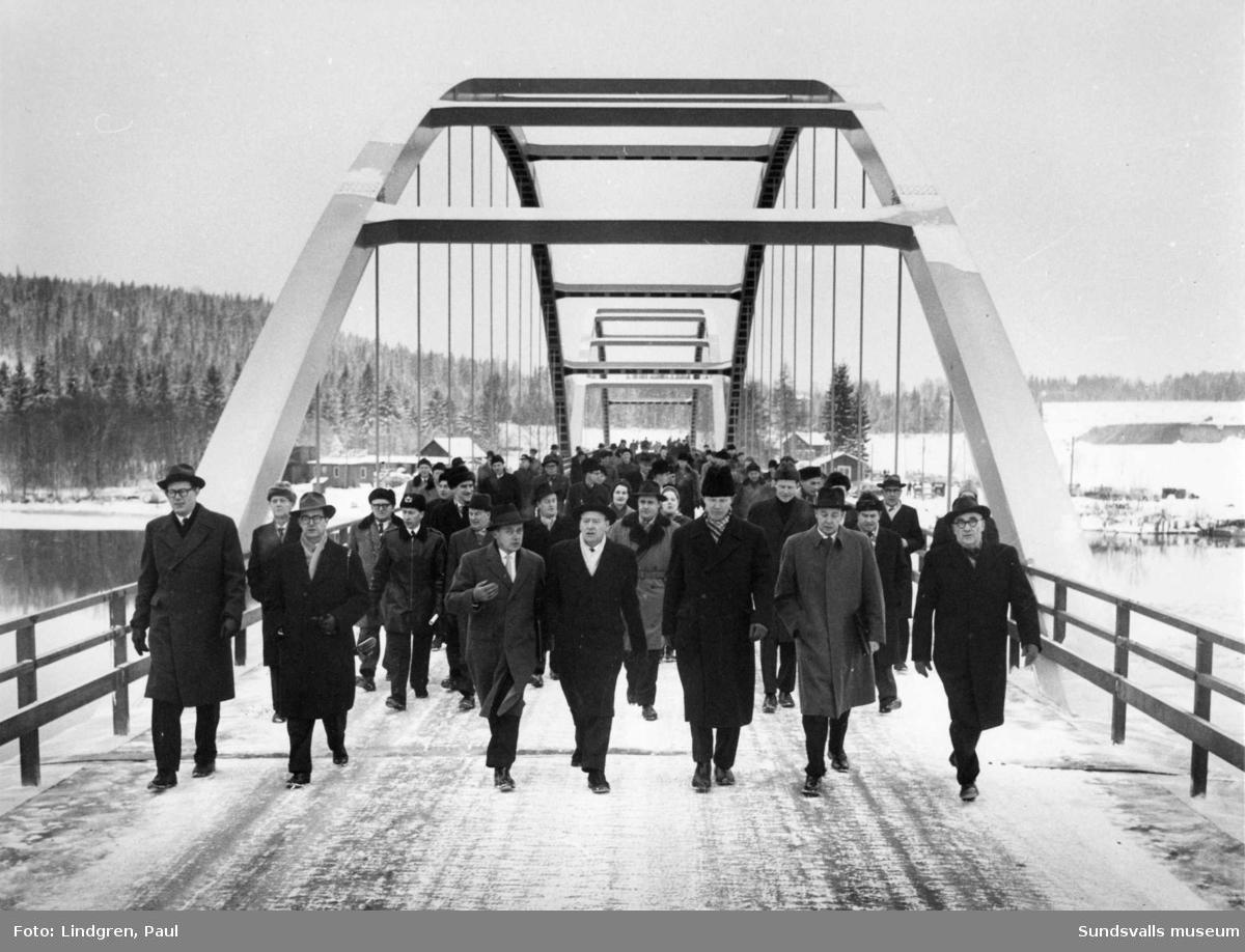 Invigning av Skeppsholmsbron.