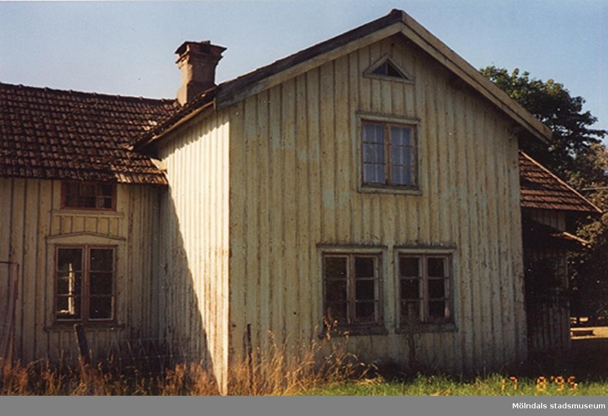 Mangårdsbyggnad, Ålgårdsbacka 1:7 i Lindome. 1995-08-17.