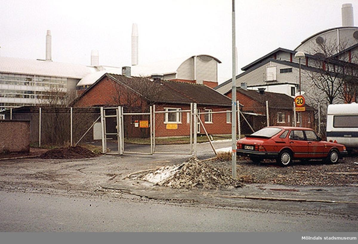 Åbro industriområde.Kråketorpsgatan/Pepparedsleden 1, Tingshuset 4, Östra Balltorp 1997.