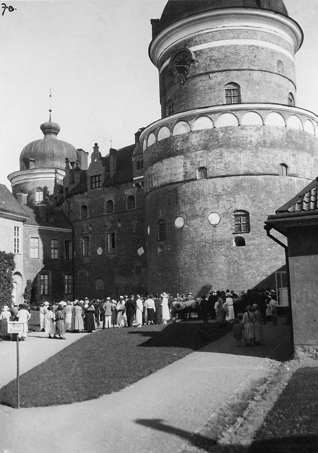 Utfärd till Gripsholm den 16 juli.