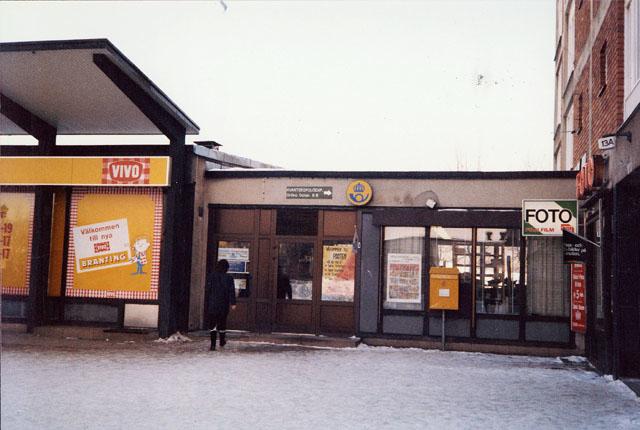 Postkontoret 750 11 Uppsala Brantingstorget 11