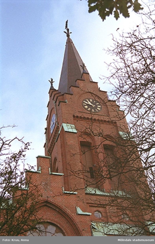 Fässbergs kyrka - tornet.