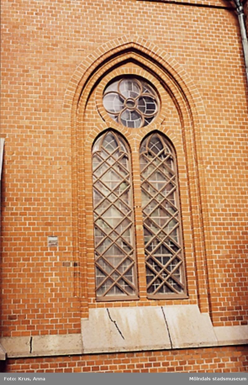 Fässbergs kyrka - fönster.