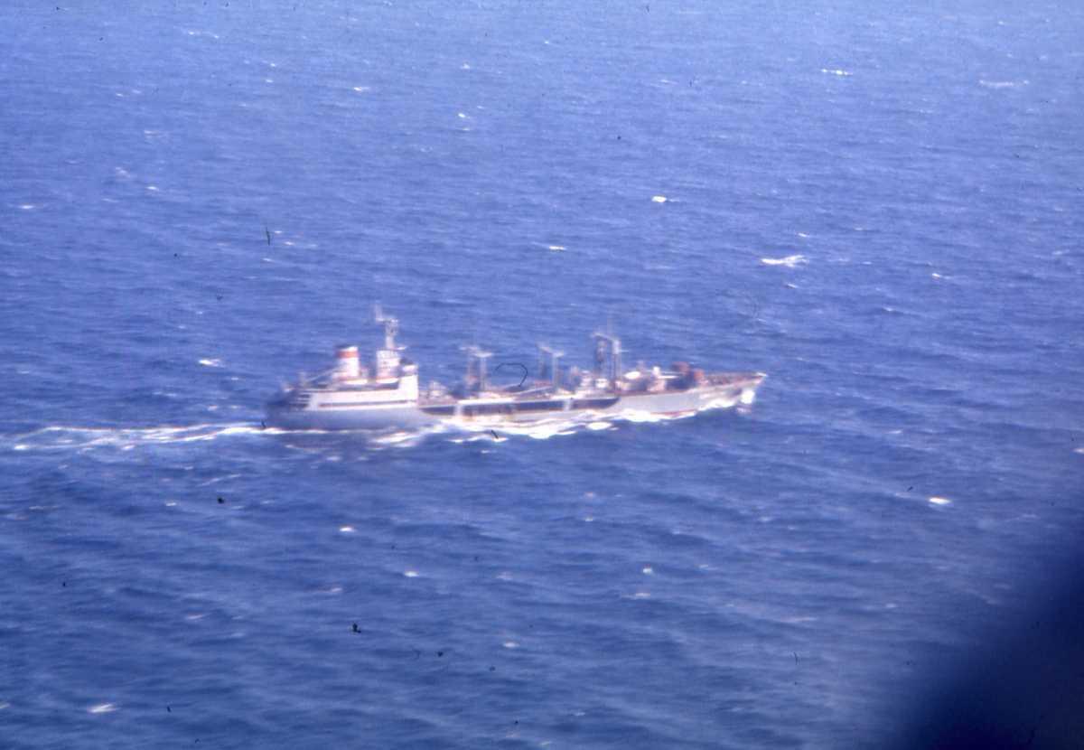 Russisk fartøy av Boris Chilikin - klassen som heter Dnestr.