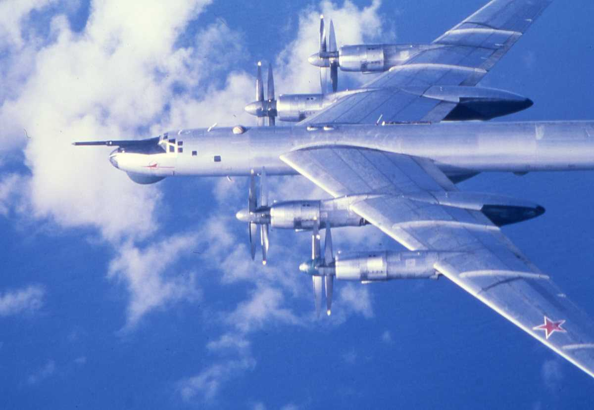 Russisk fly av typen Bear D.