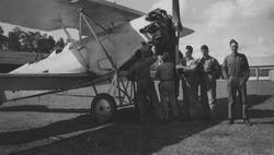 Bilder från F 3 Malmen, 1930-1940-tal. Eric Barrheds samling