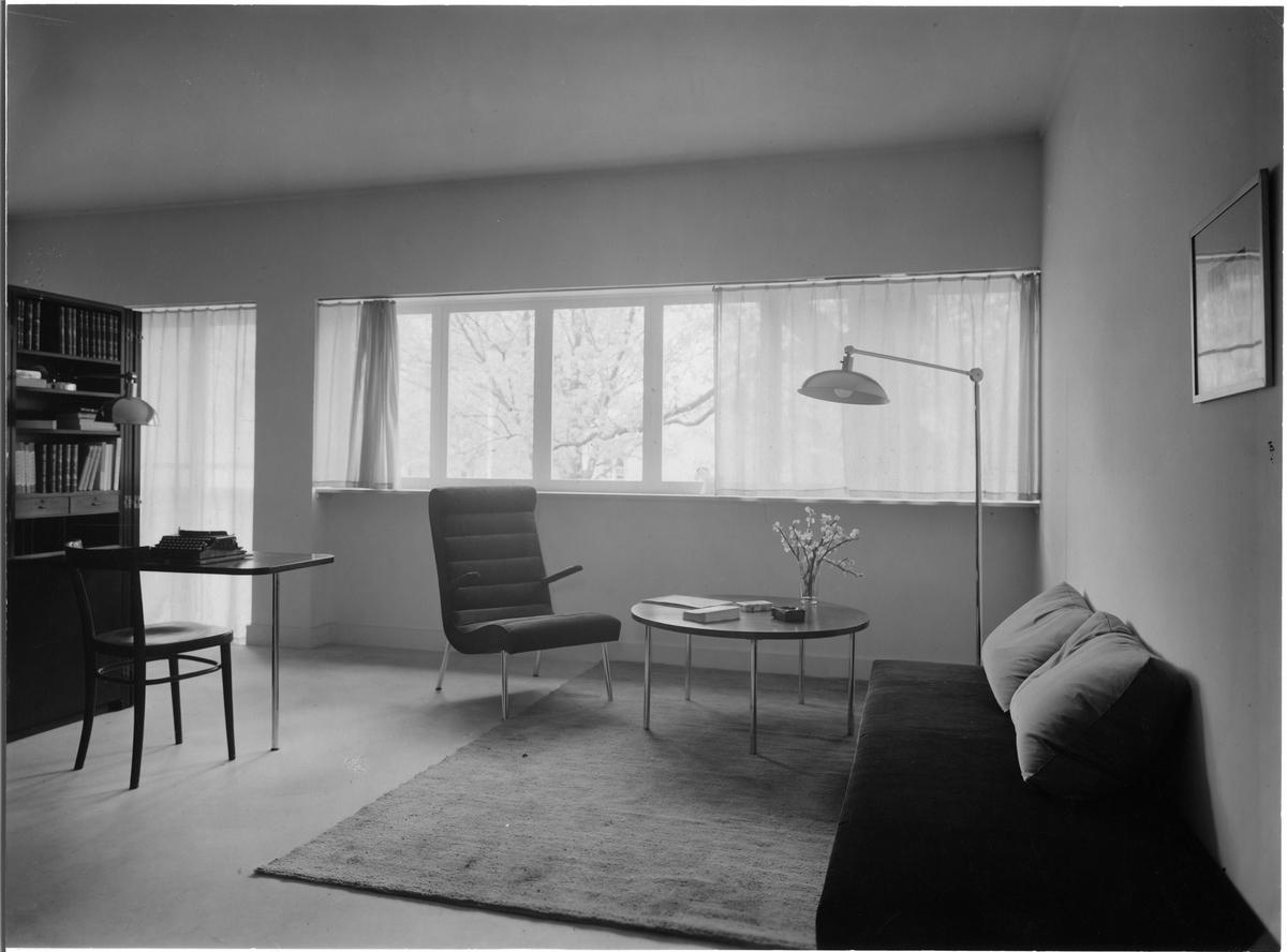Stockholmsutställningen 1930 hall 36, hyreslägenheter: lägenhet 15 ...