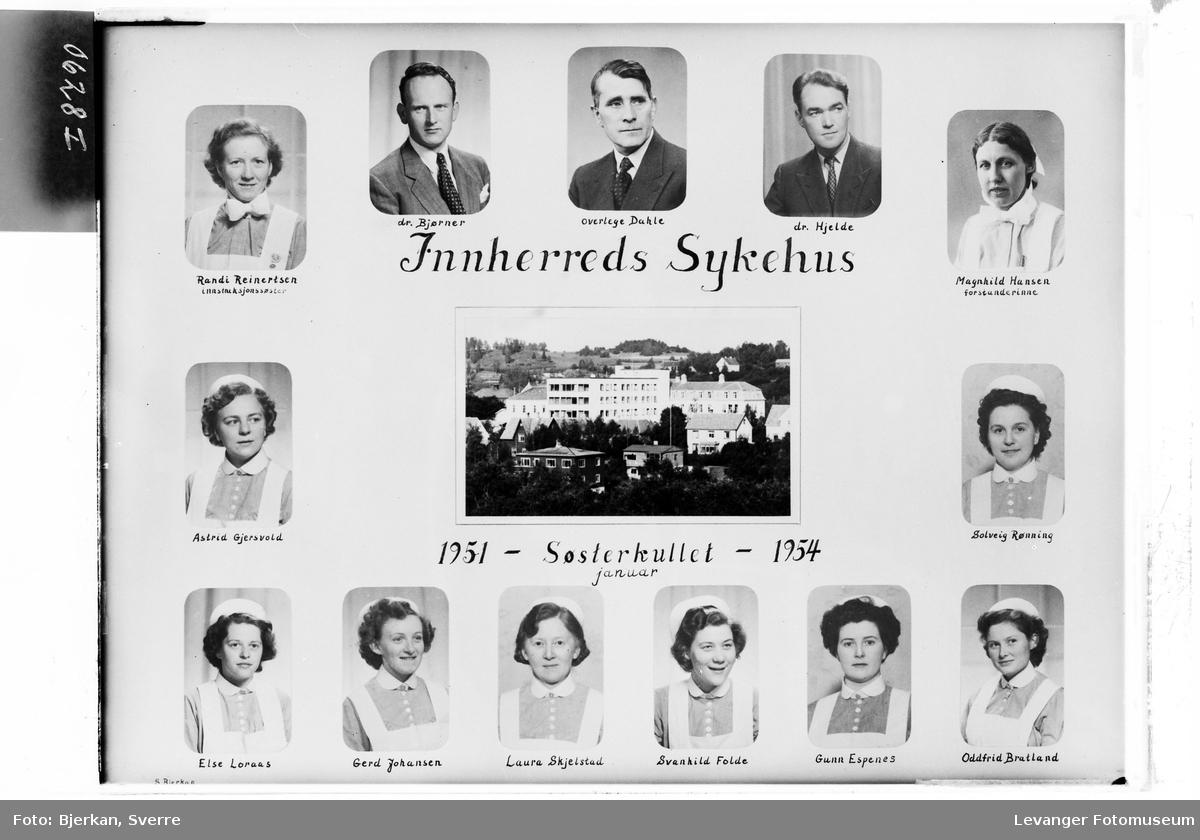 Innherreds Sykehus. Søsterkullet 1951-54