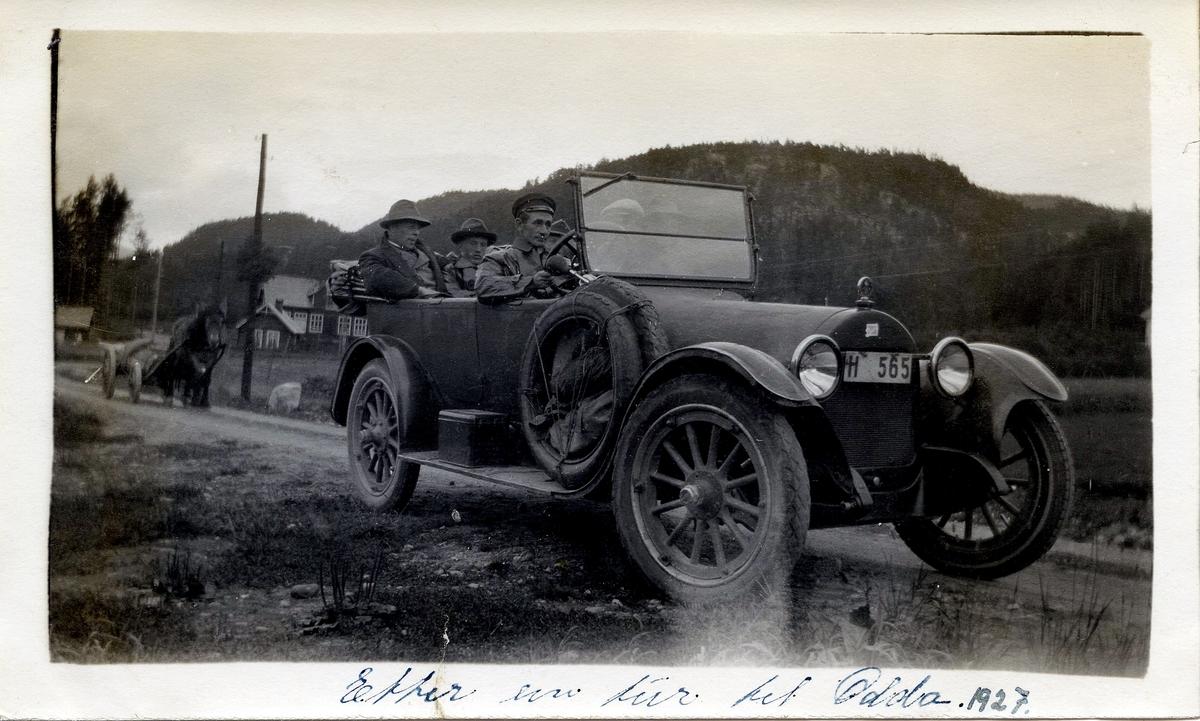 Biltur i 1927