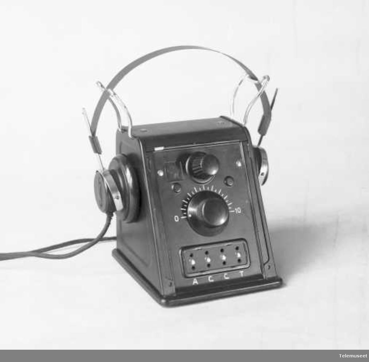 Radioapparat, krystallapparat med multidetektor. Elektrisk Bureau.