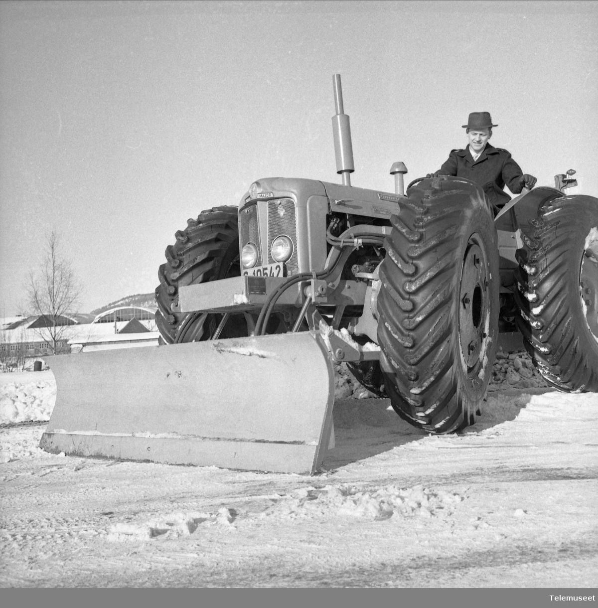 Traktor vinter