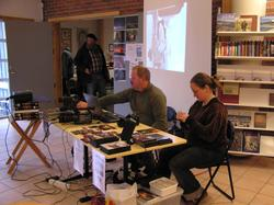 Hobbydag 21.10.2007 på Berg-Kragerø Museum. Mange viser fra