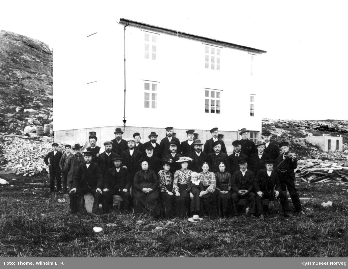 Vikna, Fra byggingen av Nærøysund fyr