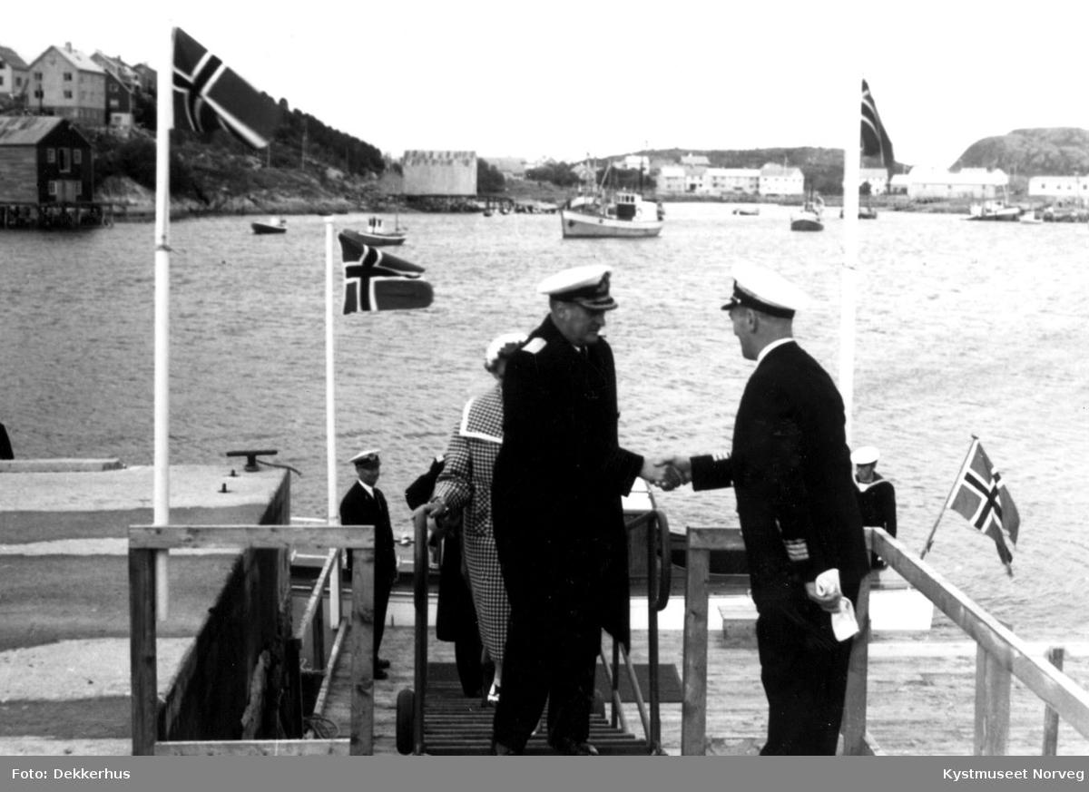 Rørvik, Kong Olav V`s signingsferd i 1959