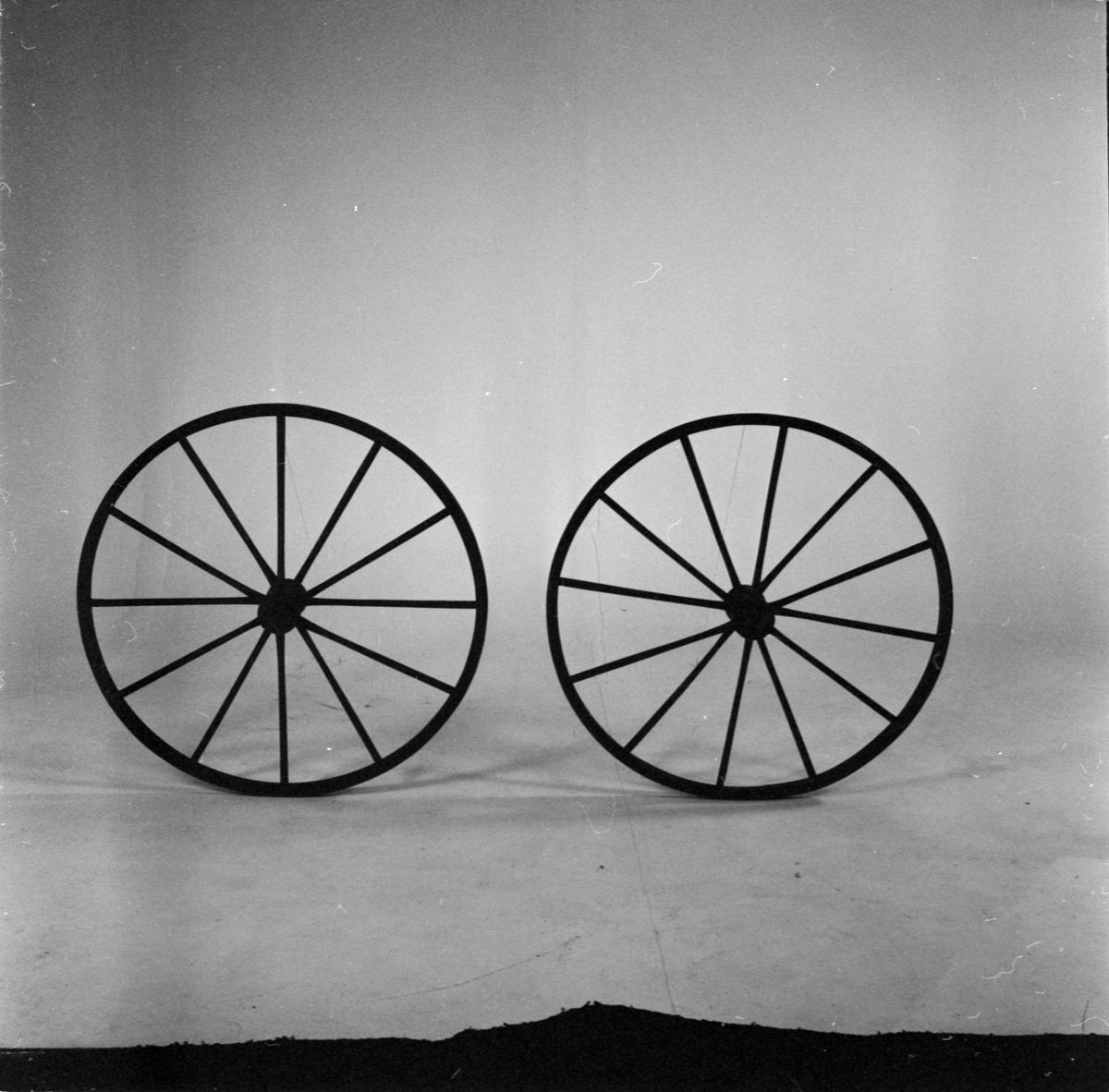 Sveriges äldsta cykelhjul, Uppsala, januari 1962