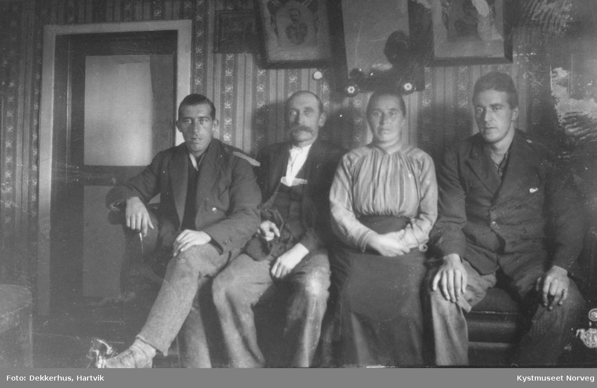 Ingvar, Eivind, Ellen og Talberg Hamran