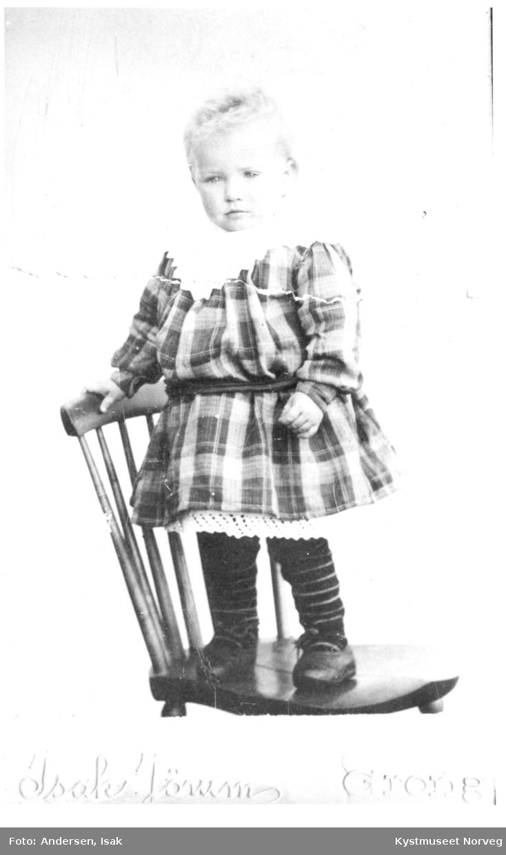 Aslaug Andersen, atelierfoto